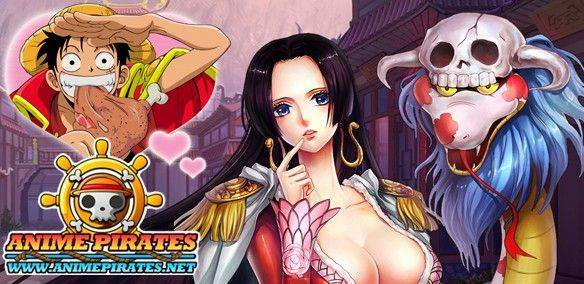 Anime Pirates gioco mmorpg