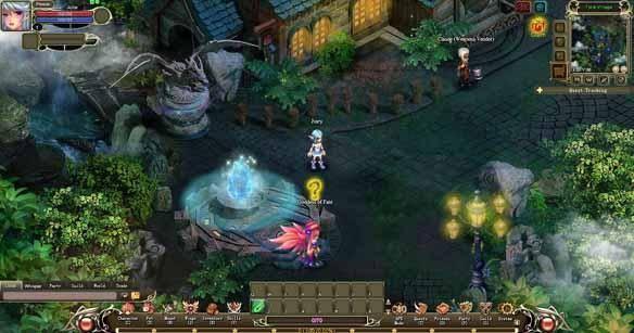 Crystal Saga gioco mmorpg