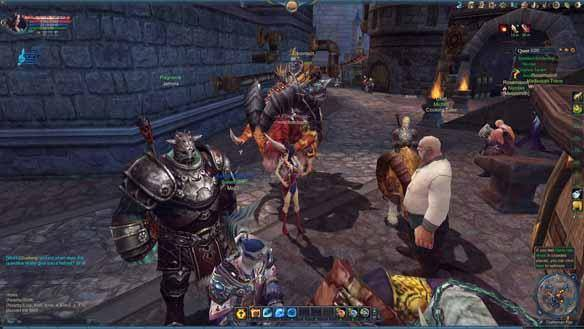 Forsaken World gioco mmorpg