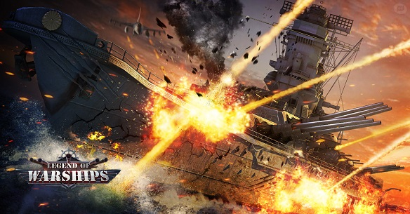 Legend of Warships gioco mmorpg gratuito