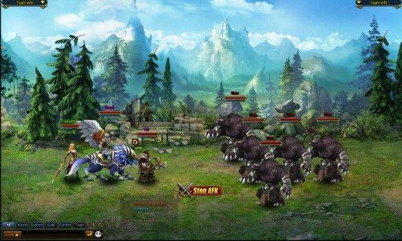 Shadowbound gioco mmorpg