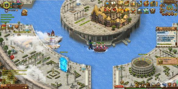 Seas of Gold gioco mmorpg