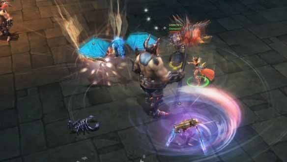 War of the Immortals gioco mmorpg
